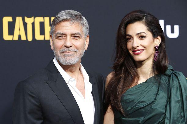 George Clooney saapuu Amal-vaimon ja lastensa kanssa Suomeen syksyllä.