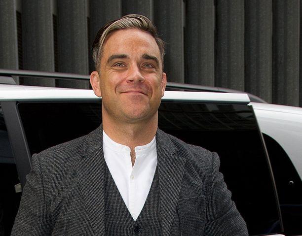 Robbie konsertoi Hartwall Areenalla toukokuussa.