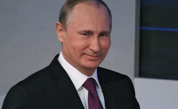 Putin uskoo Venäjän kansan luottamukseen.