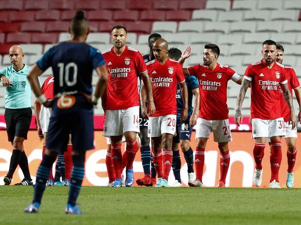 Juhliiko Benfica keskiviikkona Moskovassa?