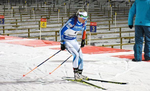 Mari Laukkanen hiihti hienosti Östersundissa. Hän oli hiihtoajoissa kuudes.