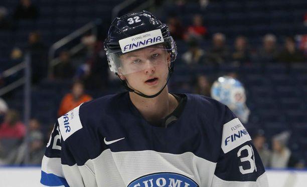 Aleksi Heponiemi teki sopimuksen Kärppien kanssa.