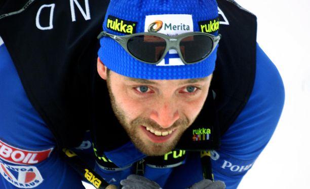 Mika Myllylä ei uskonut kärynsä jälkeen keväthangilla 2001, että seurauksena on kahden vuoden kilpailukielto.