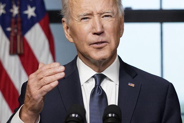 """USA:n presidentti Joe Biden sanoi aiemmin TV-haastattelussa, että Venäjän presidentti Vladimir Putin tulee """"maksamaan"""" toiminnastaan."""