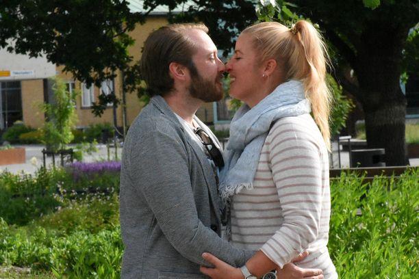 Samuel ja Tiina väänsivät monesta asiasta, mutta ovat edelleen onnellisesti yhdessä.