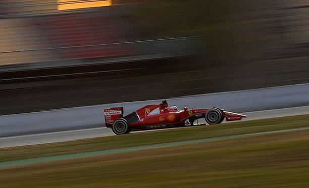 Kimi Räikkönen oli hyvin lähellä koko testisession kärkiaikaa Barcelonassa.