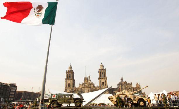 Mikko Aron työtehtäviin Meksikossa kuuluivat erilaiset vartiointitehtävät ja kohdesuojaus. Kuvituskuva.