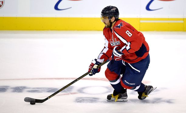 Aleksander Ovetshkin on yksi NHL:n parhaita maalintekijöitä.