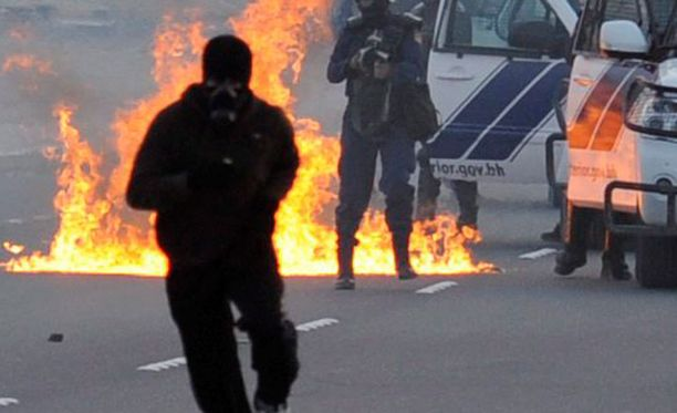 Mielenosoitukset ovat jatkuneet Bahrainissa.