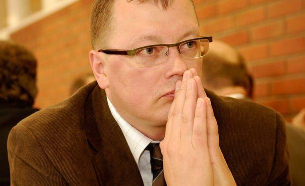 Ulvilan surman ex-tutkinnanjohtaja Juha Joutsenlahti.