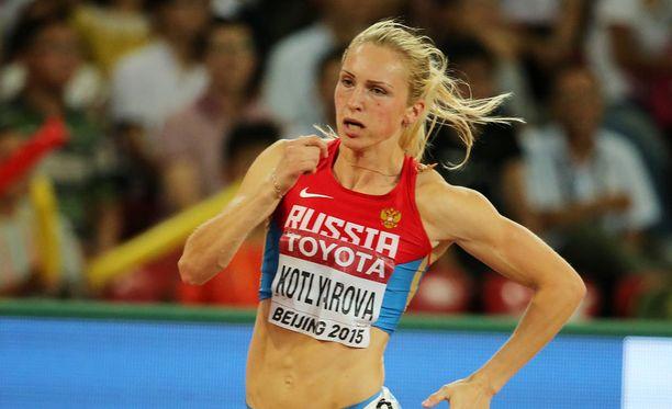 Nadezhda Kotljarova on edustanut Venäjää arvokisoissa.