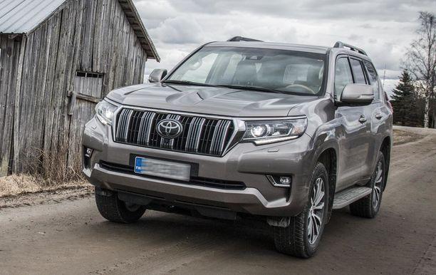 Ison Toyota Land Cruiserin vero nousee 14 000 euroa.