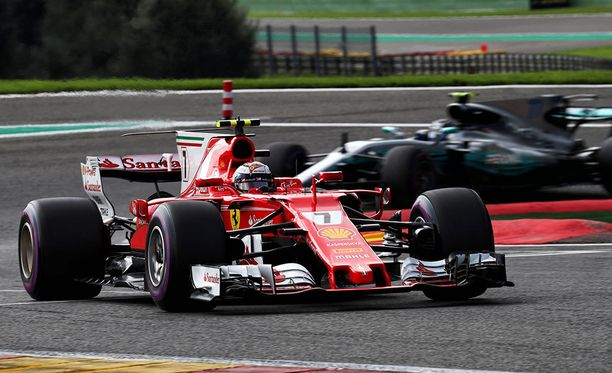 Kimi Räikkönen on voittanut Spassa neljästi, Valtteri Bottas ei vielä kertaakaan.
