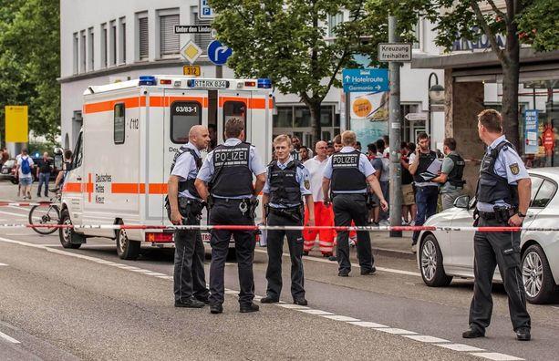 Poliisi tutkii hyökkäystä, joka tapahtui Saksassa.