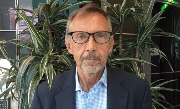 Toukokuussa eläkkeelle jäänyt oikeuskansleri Jaakko Jonkka.