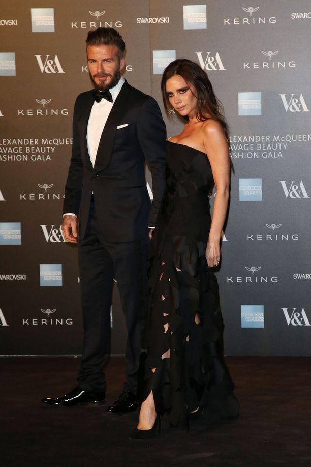 David ja Victoria ovat olleet naimisissa 16 vuotta.