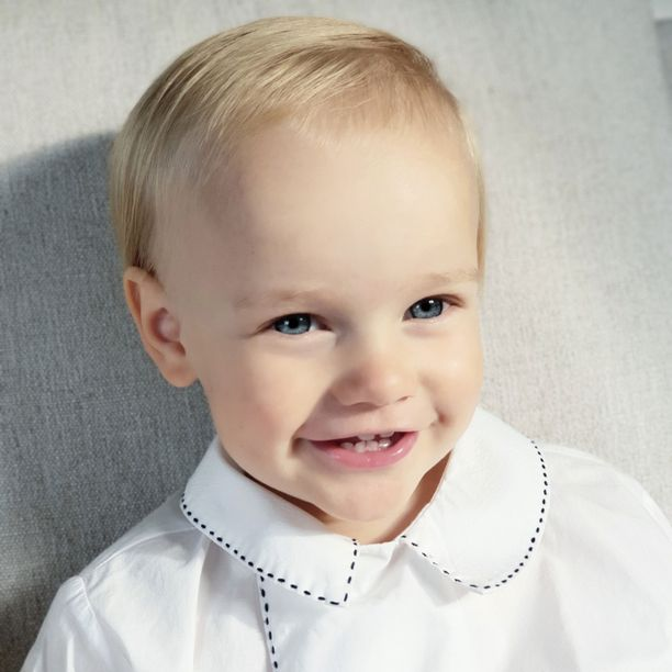 Prinssi Gabriel eli Gabbis on 2-vuotias hurmuri.