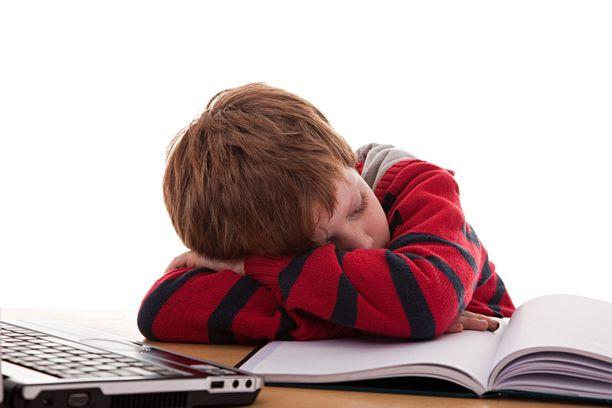 Jos lapsi viettää illat ja yöt Fortniten parissa, hän voi näyttää koulussa tältä.
