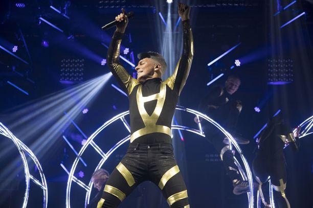 Nähdäänkö Antti Tuisku Euroviisu-lavalla toukokuussa Israelissa?