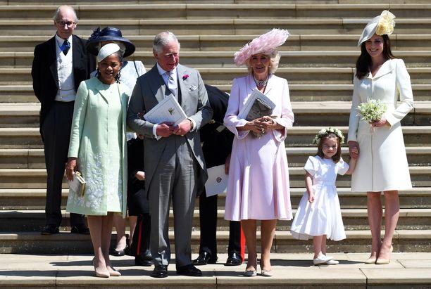 Doria Ragland on otettu kuninkaallisessa perheessä lämpimästi vastaan.