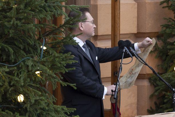 Turun kaupungin protokollapäällikkö Mika Akkanen uskoo, että joulurauha julistetaan myös tänä vuonna.