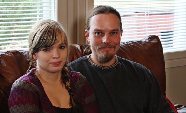 Johannalla ja Vilelllä on nyt kaksi yhteistä lasta.