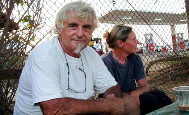Saksalainen 70-vuotias Jürgen Kantner kaapattiin viime marraskuussa purjeveneestä Sabahin maakunnan vesillä.
