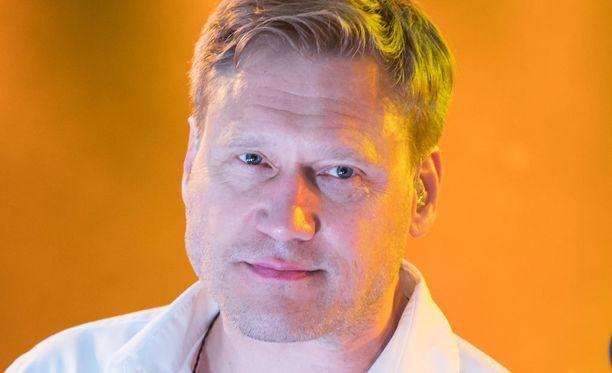 Kuvassa Samuli Edelmann kesäkuun lopussa.