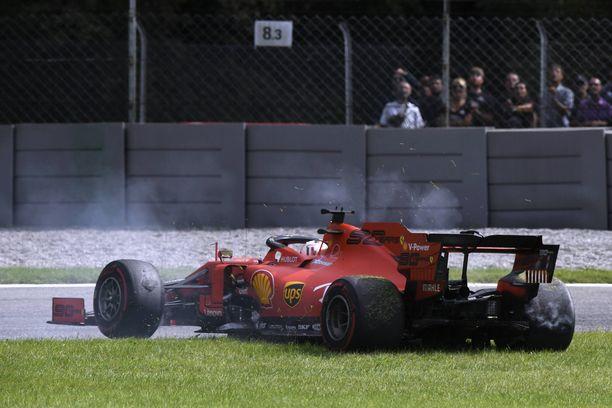 Sebastian Vettelin otteet eivät vakuuta tällä hetkellä.