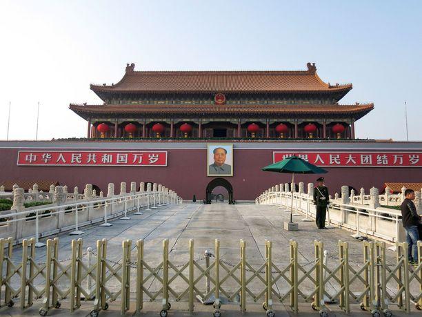 Vallankumouksellisuus voi tuoda Kiinassa pitkän tuomion.