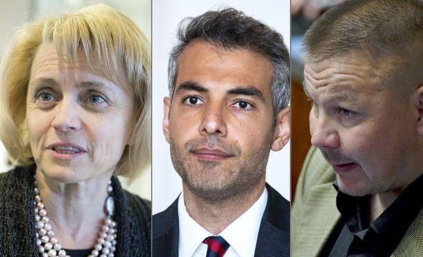 Kaikkien kolmen kansanedustajan esitutkinnat ovat vielä kesken.