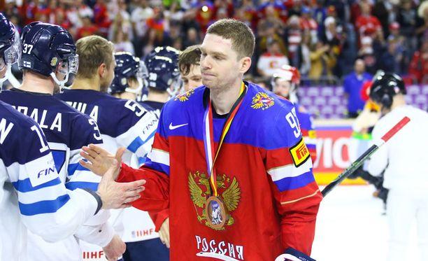 Leijonat hävisi sunnuntaina MM-pronssipelin Venäjälle.