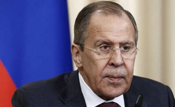 Venäjän ulkoministeri Sergei Lavrov tapaa Yhdysvaltojen ulkoministerin Yhdysvalloissa.