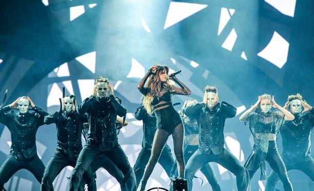 Gomez esiintymässä Kanadassa heinäkuussa.