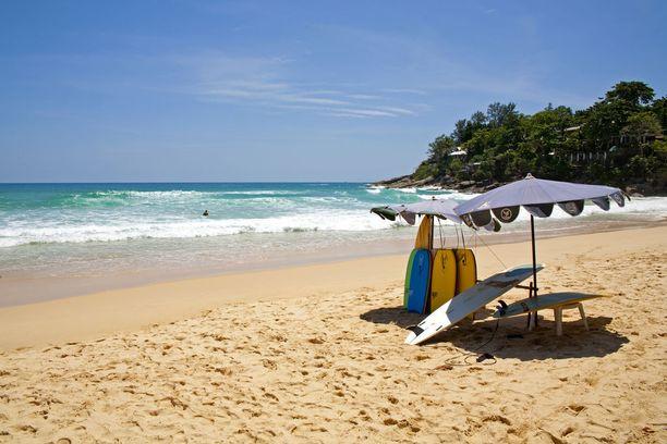 Kat Noi Beach on rento ja rauhallinen.