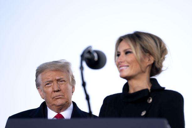 Melania Trumpin käytöstä ruoditaan tulevassa paljastuskirjassa.