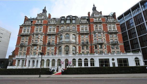 Mandarin Oriental -ketjuun kuuluva Hyde Park -hotelli Lontoossa. Arkistokuva vuodelta 2011.
