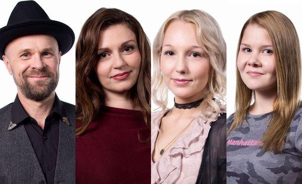Petri, Ramona, Emma ja Vanessa nähdään seuraavan kerran Kaksintaistelu-vaiheessa.