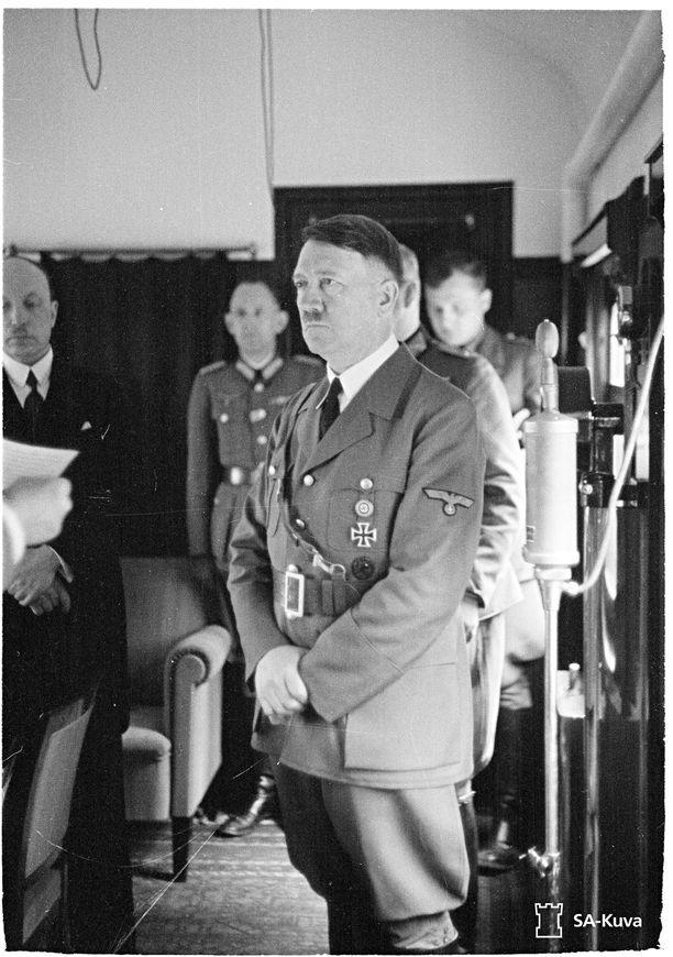 Hitlerin vierailu Suomessa.