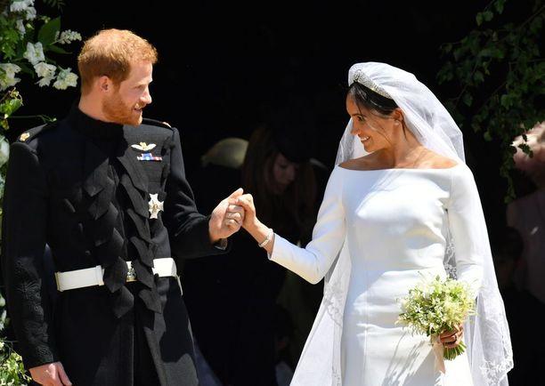 Prinssi Harry ja Herttuatar Meghan avioituivat toukokuussa.