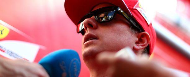 Kimi Räikkönen puhui medialle Espanjassa.