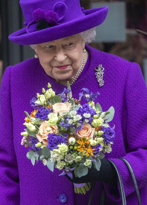 Ristikko ilahdutti kuningatarta, mutta siitä ei ole tietoa, löysikö hän kaikki ristikon sanat.