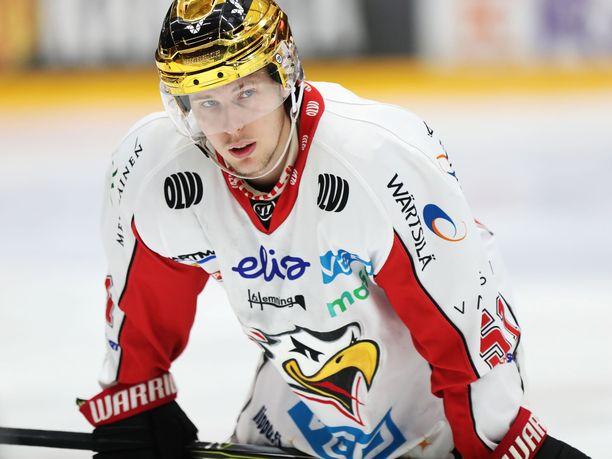 Antti Kalapudas oli viime kaudella Sportin paras pistemies.