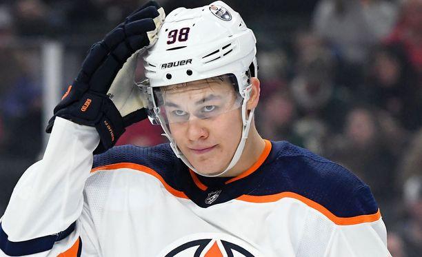 Jesse Puljujärvi on menossa oikeaan suuntaan.