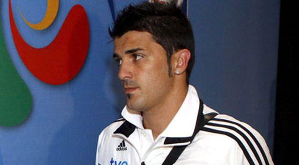 David Villa on tällä hetkellä Espanjan maajoukkueen mukana Confederations cupissa Etelä-Afrikassa.