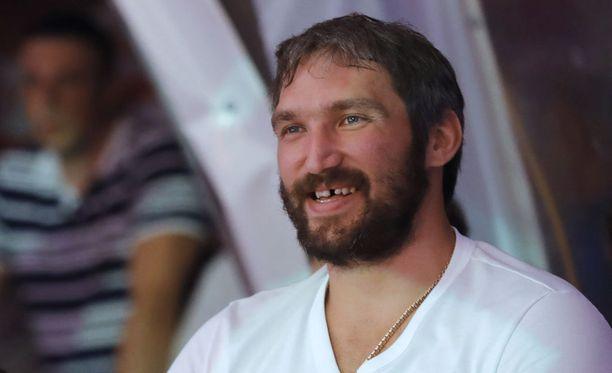 Aleksandr Ovetshkinin ja Capitalsin NHL-kausi alkaa lokakuussa.