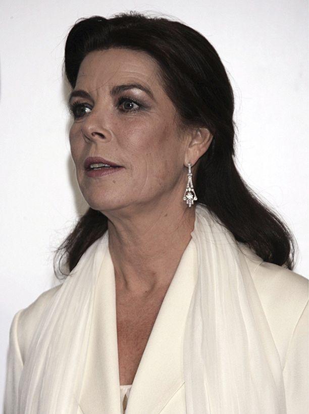 Monacon prinsessa Caroline kuvattiin gaalatapahtumassa Monacossa syksyllä 2009.
