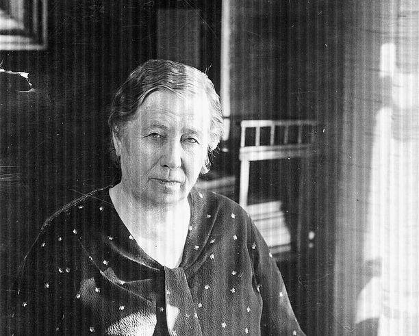 Miina Sillanpää.