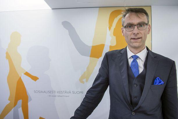 Alivaltiosihteeri Tuomas Pöysti.