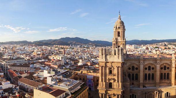Malagan historiallisessa keskustassa on paljon kiinnostavaa nähtävää.